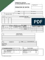 Planilla incorporación de datos - inicio Civil