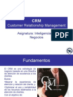 Business Intelligence Clase XX - CRM