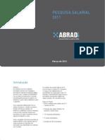 Abradi - Pesquisa Salarial 2011 (Publicada em março de 2012)