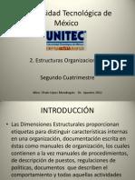 2. Dimensiones estructurales