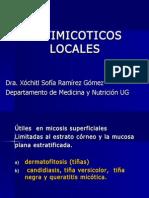 156- Antimicóticos locales