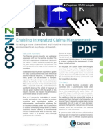 Enabling Integrated Claims Management