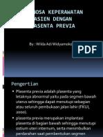 Diagnosa Keperawatan Plasenta Previa