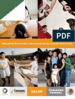 Manual de Prevención comunitaria