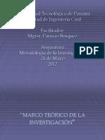 Presentacion 5 de Metodología de la Investigación 2012