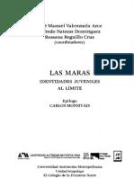Los Maras, identidades juveniles al límite - Valenzuela Arce