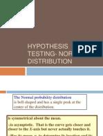 1 Normal Distribution