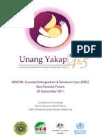 Einc Best Practice Forum Proceedings
