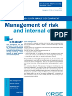 F2 Management of Risk