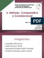 5. Método Correlacional