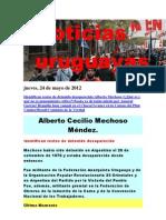 Noticias Uruguayas Jueves 24 de Mayo Del 2012