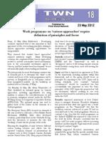 Third World Network – Bonn Update #18