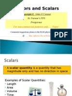 VectorsandScalars