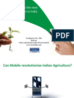 Can Mobile Revolutionize Indian Agriculture
