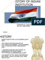 Brief History of Indian Constitution