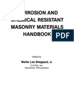 Corrosion and Chemical Resistant Masonry Handbook