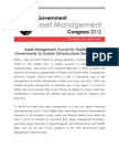 Asset Management Crucial for Middle East Governments to Sustain Infrastructure Developments