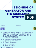 Commissioning Generators and Its Auxiliary System