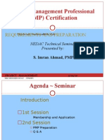 Pmp Requirements Ppt