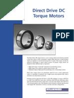 Direct Drive DC Torque Motors Catalog 2005