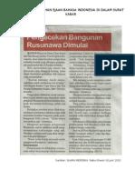 Analisa Kesalahan Ejaan Bahasa Indonesia Di Dalam Surat Kabar