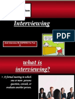 Interviewing( Speech Communication)