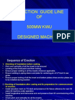 L-06 Erection Guide Line of 500 Mw Turbine Anp-4