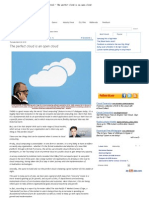 Tech Central - The Perfect Cloud is an Open Cloud