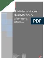 Fluid Machines Lab Assignment