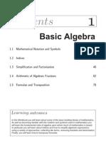 1 Basic Algebra
