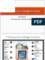IT Solutions for Intelligent Homes