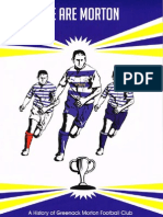 We Are Morton - A Peoples History of Morton Football Club