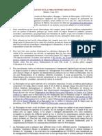 Déclaration de la philosophie espagnole (français)