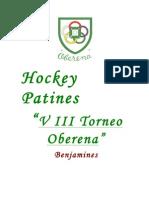VIII Torneo Oberena Rotxapea