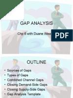 Mark 364 - Gap Analysis - Chp6