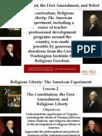 Religious Liberty Lesson 2