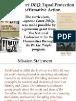 SCDBQ Brown v. Board of Education