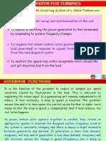 principle of turbine Governing complete details