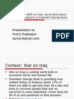 100 Billion $ for WAR on Iraq- Some