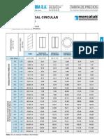 Catalogo de Tubos y Accesorios
