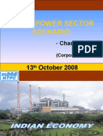 13th October 2008 Indian Power Sector