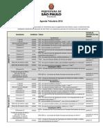 Agenda Tri but Aria 2012