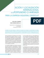 Globalización y localización internacional