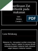pemeriksaan antibiotik
