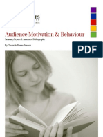 Audience Motivation Annotated Bibliography