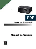 Manual Projetos Epson Presenter L A319H 21849544