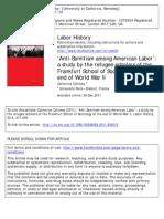 Antisemitism Among American Labar - Article