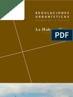Regulaciones Urbanas de La Habana Vieja