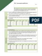 PLC Assessment - Revised