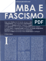 Paolo Sidoni - Samba e fascismo